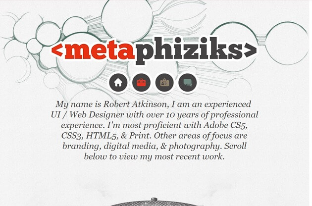 Metaphiziks site
