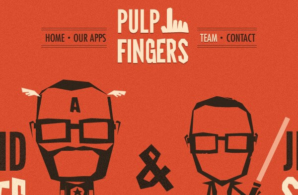 Simple Illustration - Pulpfingers
