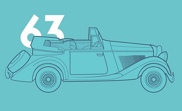Simple Illustration - Bond Cars