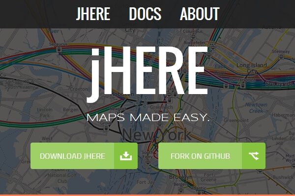 jHERE – Maps Made Easy | Bypeople