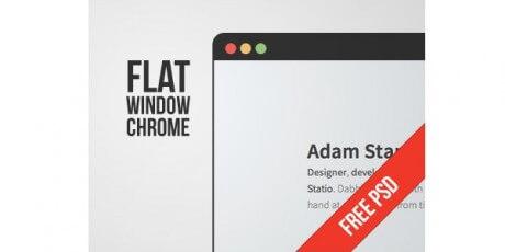 flatwindowchromepsd