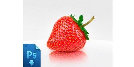 strawberry freepsdbysammuntean
