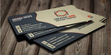 creativeringbusinesscardbyarslan