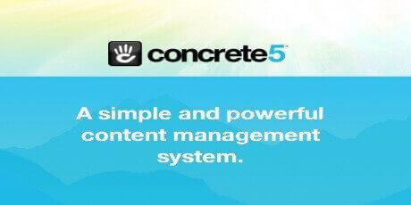 concrete5 freecmsopensourcecontentmanagementsystem
