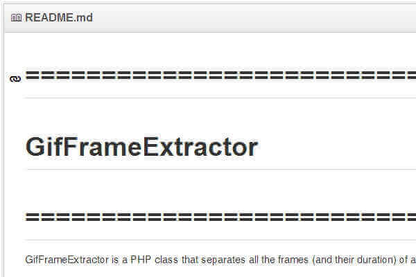 Gif Frame Extractor: PHP Gif Library | Bypeople