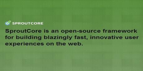 sproutcorejavascriptwebapplicationframework