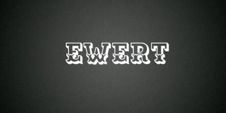 ewertallcapsslab seriffont