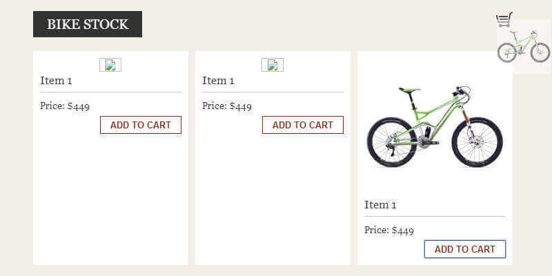 Fly to Cart Effect Using jQuery | Bypeople