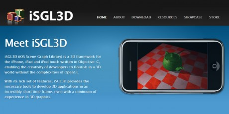 isgl3d iphone 3d framework