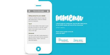 mobile sliding menus mmenu