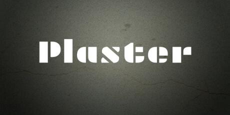 plasterstencilfontwithspecialcharactersandnumbers