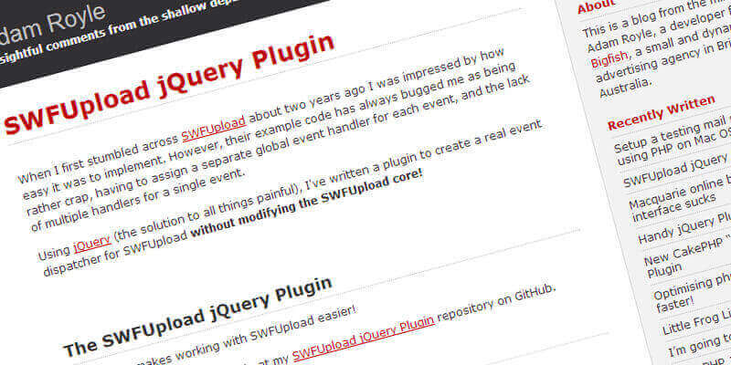 SWFUpload jQuery Plugin, create a real event dispatcher | Bypeople