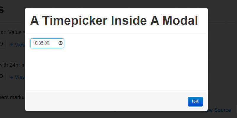 Timepicker for Twitter Bootstrap | Bypeople