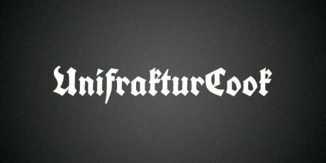 unifrakturcook font