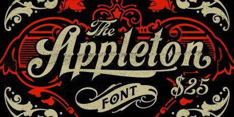 victorian style tattoo font