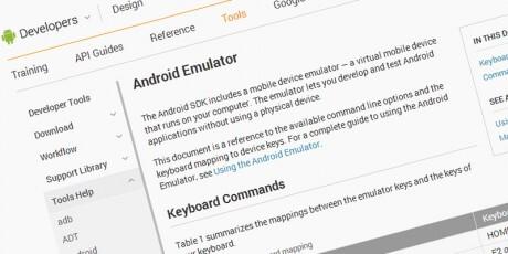 android apps development testing emulator