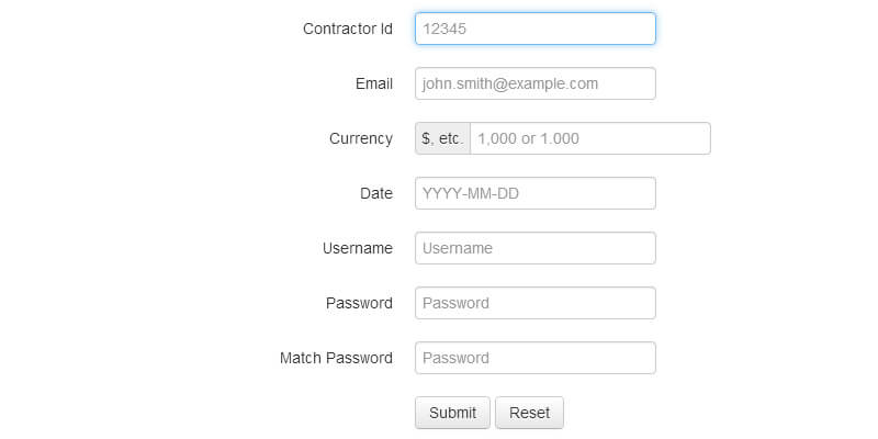 Validate Bootstrap Jquery Form Validation Plugin Bypeople