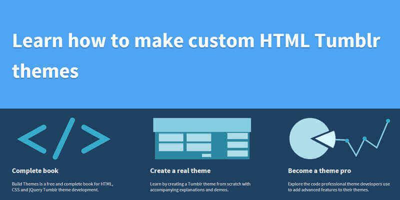 Build Themes, Make Custom HTML Tumblr Themes | Bypeople