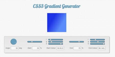 css3gen css3 gradient generator