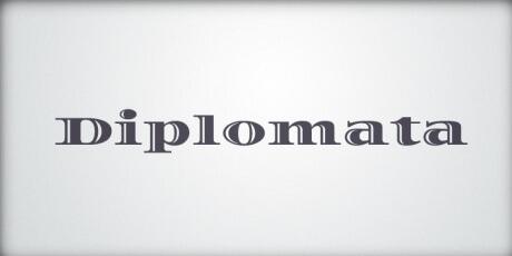 diplomataelegantseriffont