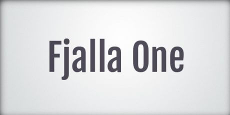display sans serif font