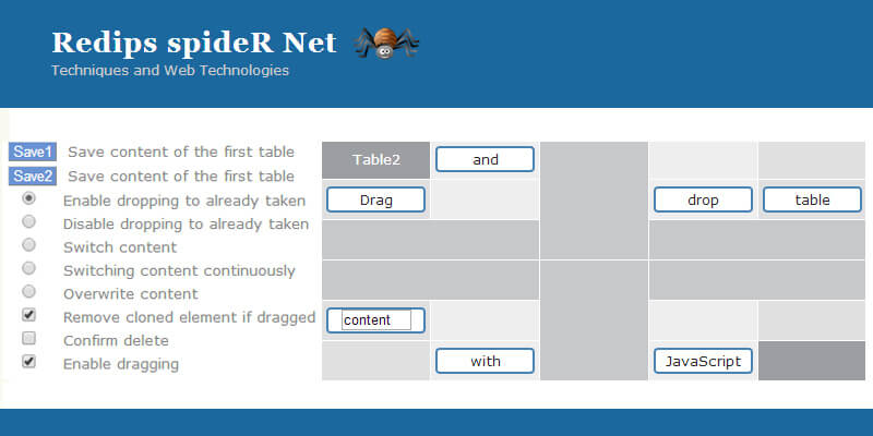JQuery Table Plugins | Bypeople