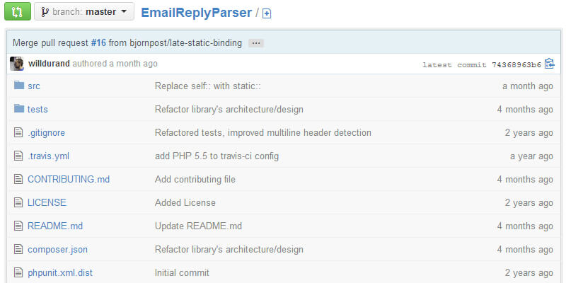 Email Reply Parser for PHP | Bypeople