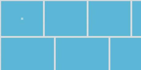 flexbox css jquery website layout template