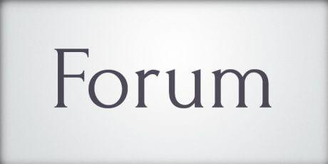 forum font