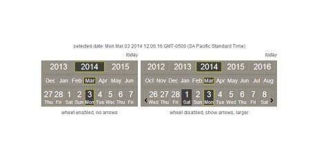free ultra lightweight calendar picker