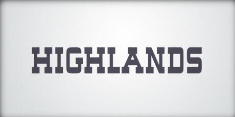 highlandscharmingslab seriffont