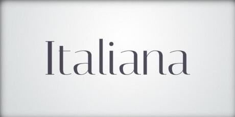 italianasophisticatedfontforheadlines