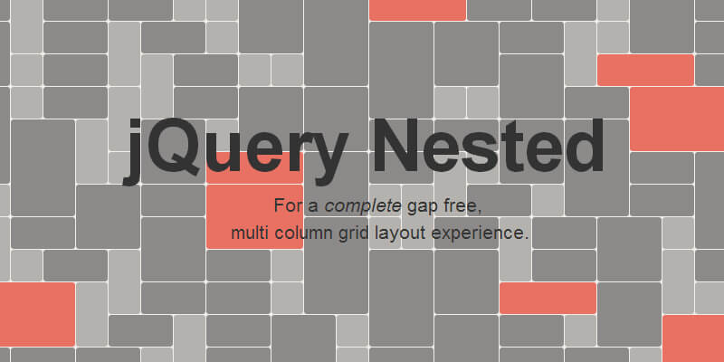 jQuery Nested: Gapless Grid Layouts | Bypeople