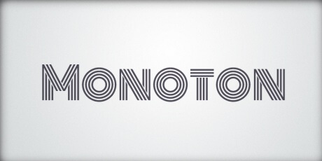 monotoncontemporarymetalpressfont