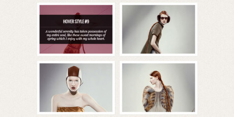 original css3 hover effects