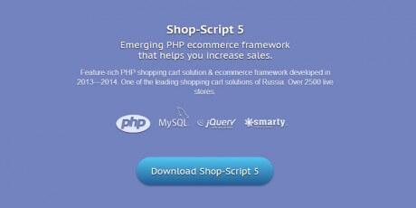 php ecommerce framework