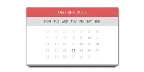 calendar css