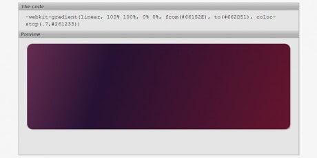 simple linear gradient generator