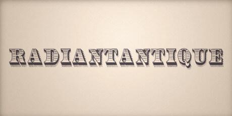 victorian display typeface