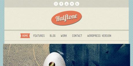 designers html and css portfolio template