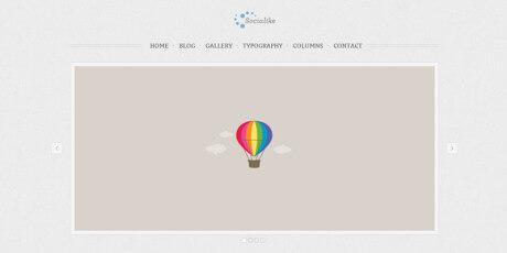 free html website template