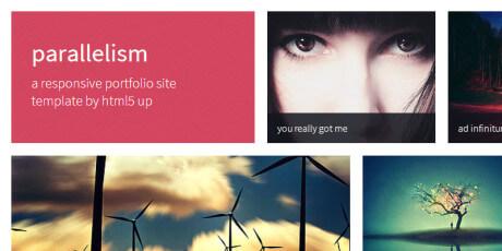 free portfolio site html template
