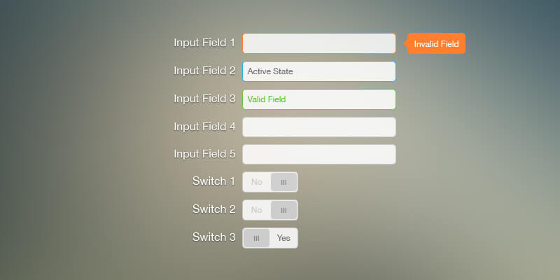 colorful psd form switches