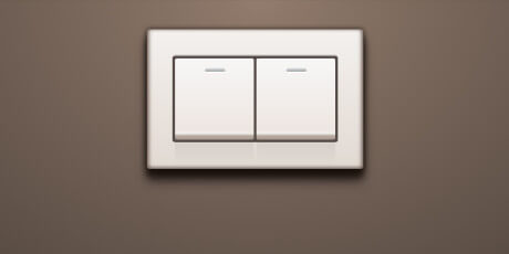 css javascript double light switch