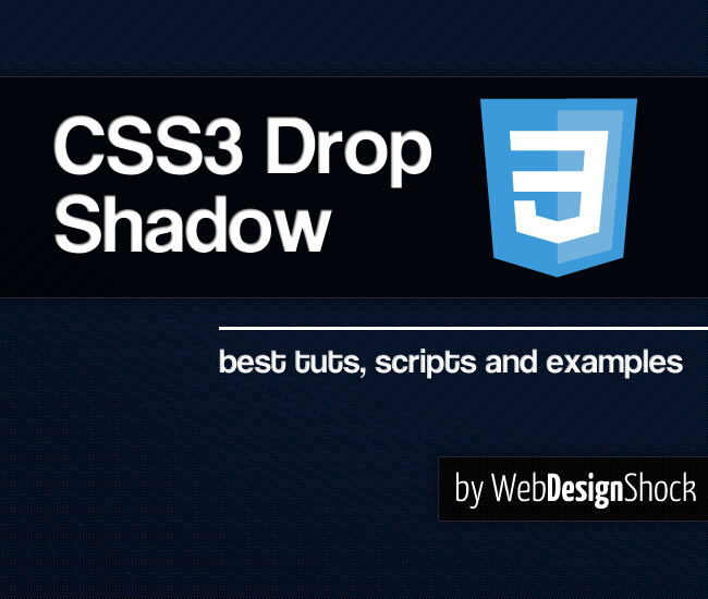 Css3 Drop Shadow 100 Best Tutorials Scripts And Examples Bypeople