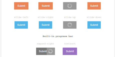 hover loading effect buttons