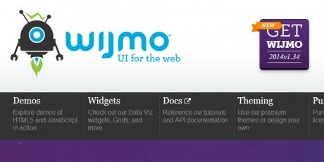 wijmoui for web development