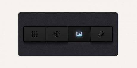 dark psd navigation buttons