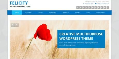 free corporate wordpress theme