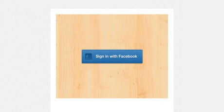 free psd sign in button